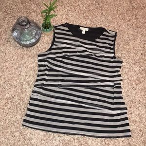 ✨3 for $15✨ XL Dana Buchman Black & Gray Tank
